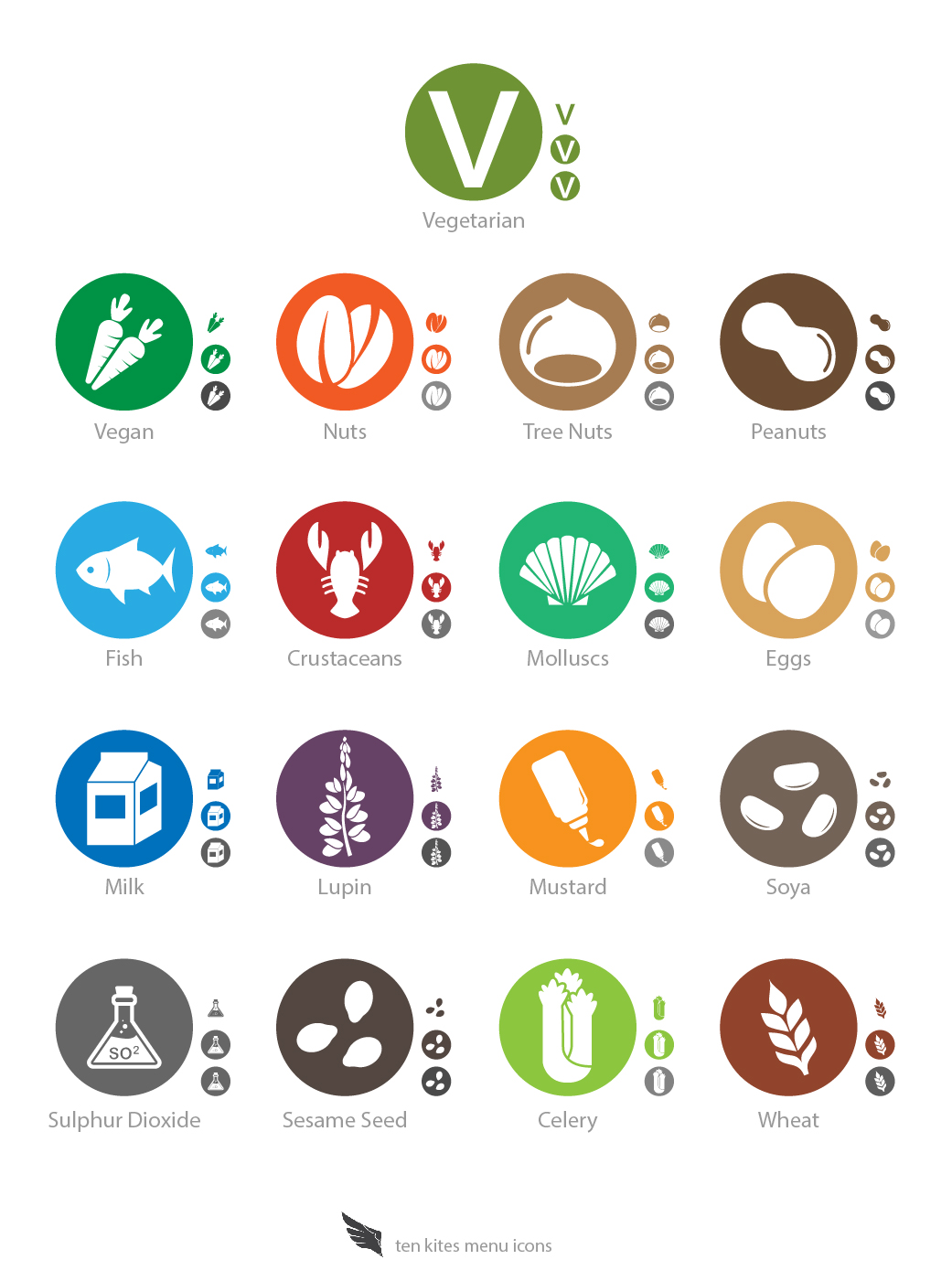TK Allergen Icons